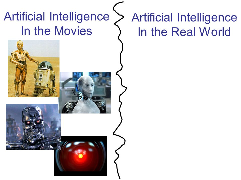 Artificial Intelligence In the Real World Artificial Intelligence In the Movies ?