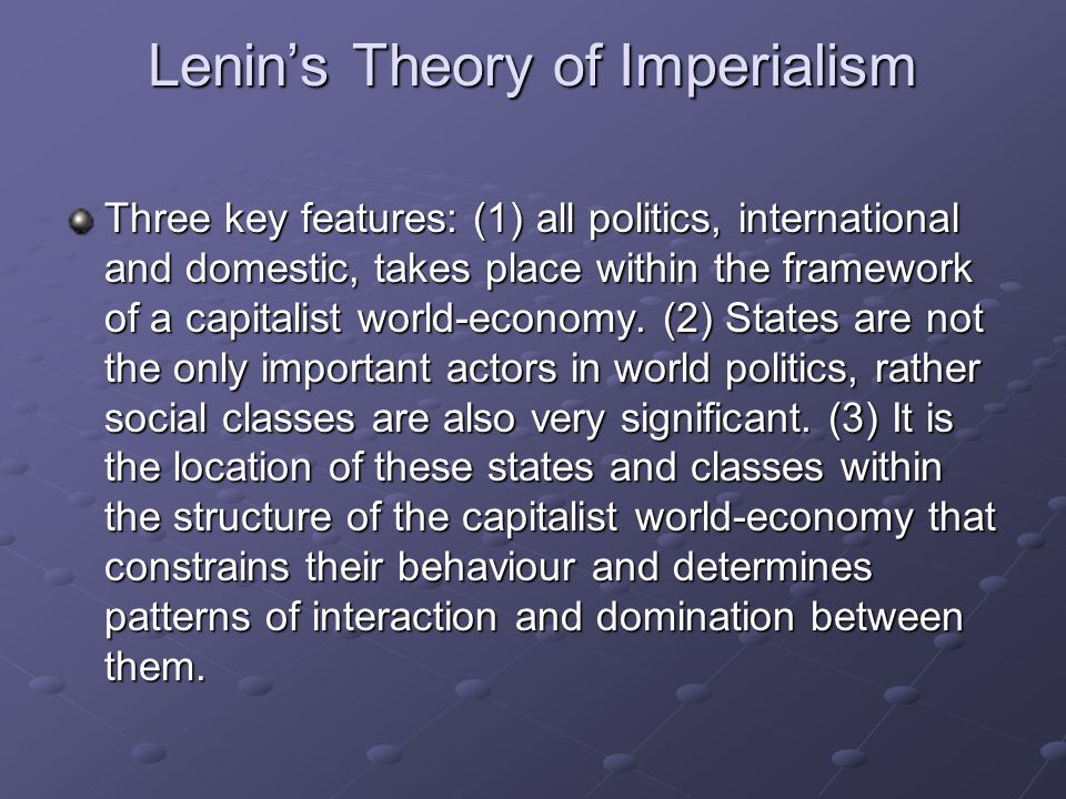 Wallersteins World-System Theory Two types of world-systems: world-empires and world-economies.