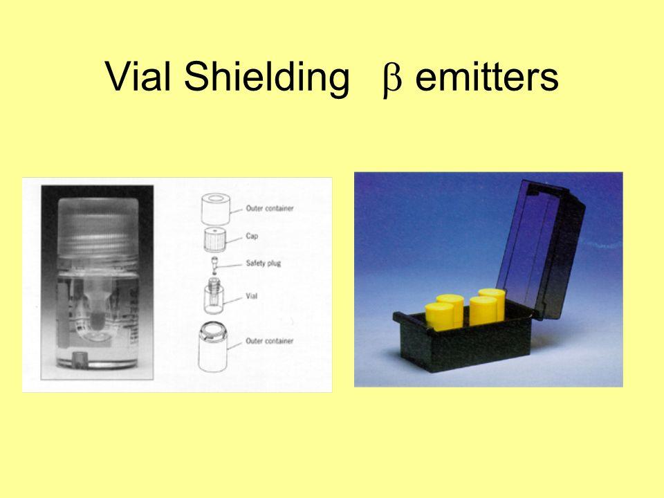 Vial Shielding emitters