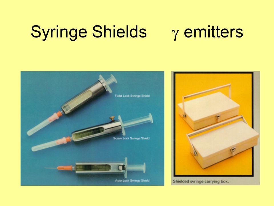 Syringe Shields emitters