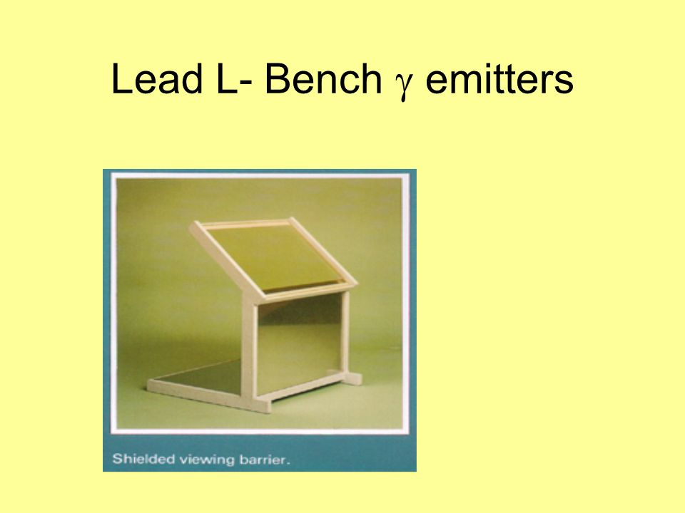 Lead L- Bench emitters
