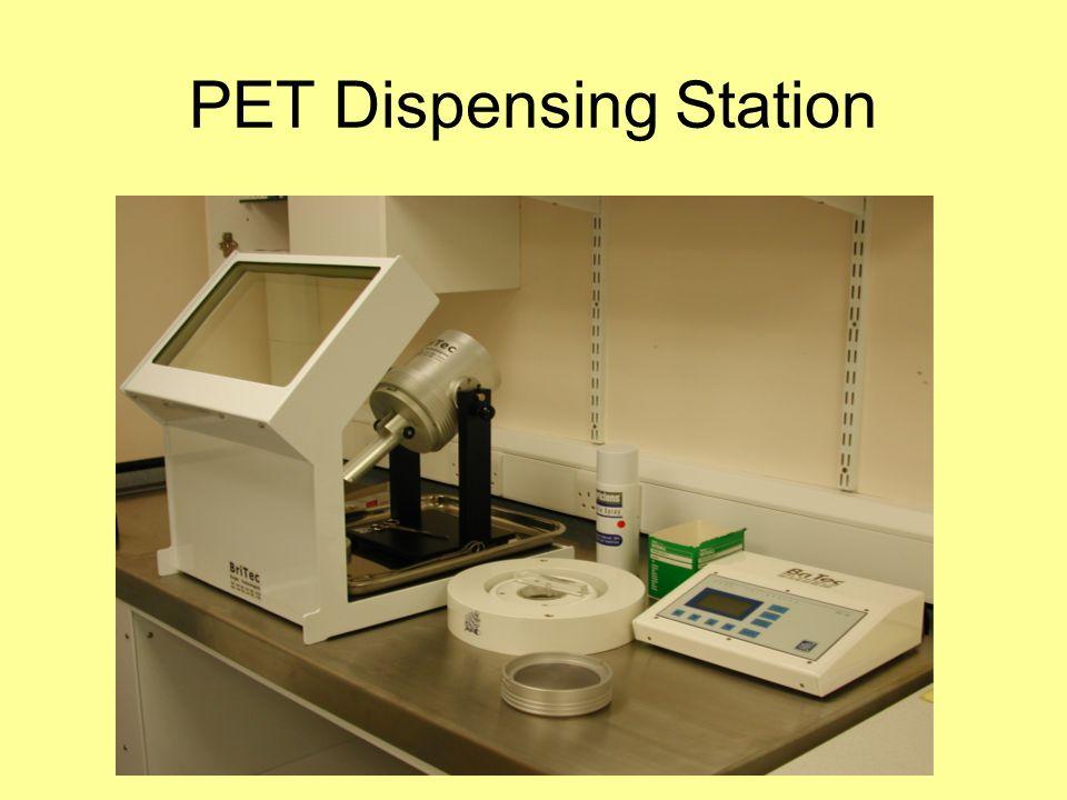 PET Dispensing Station