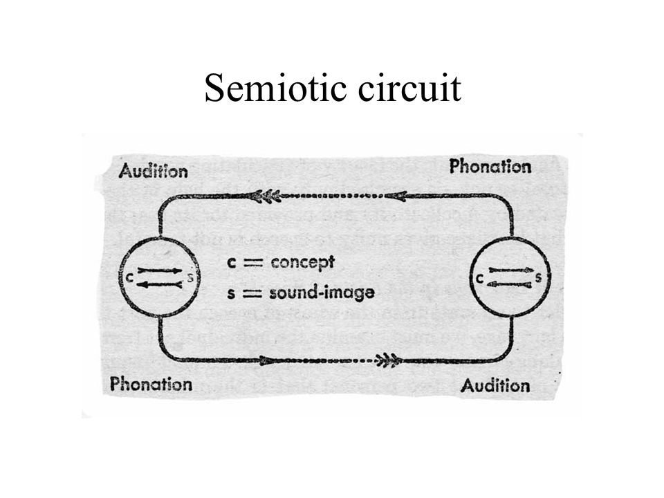 Semiotic circuit