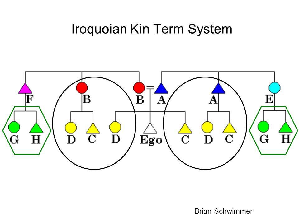 Iroquoian Kin Term System Brian Schwimmer