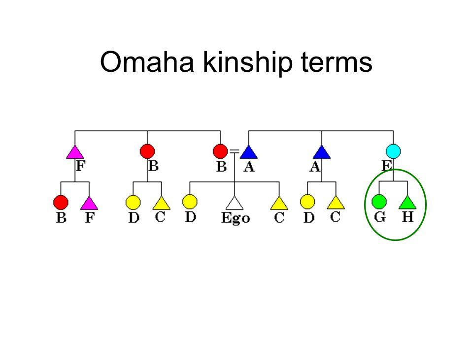Omaha kinship terms