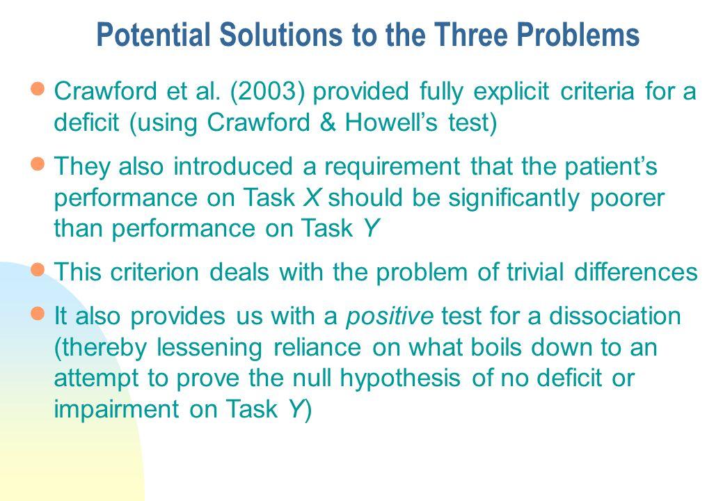 Crawford, Garthwaite & Gray ( 2003):