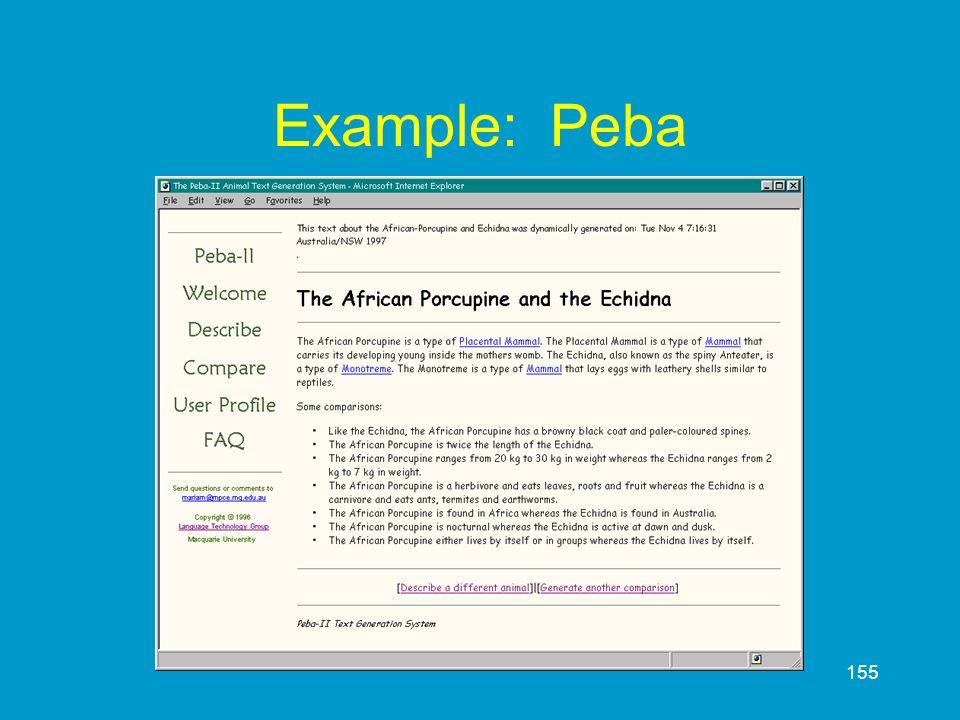 155 Example: Peba