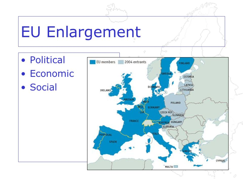 EU Enlargement Political Economic Social