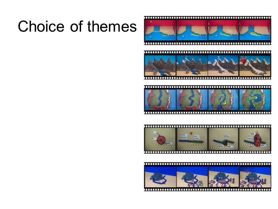 Choice of themes