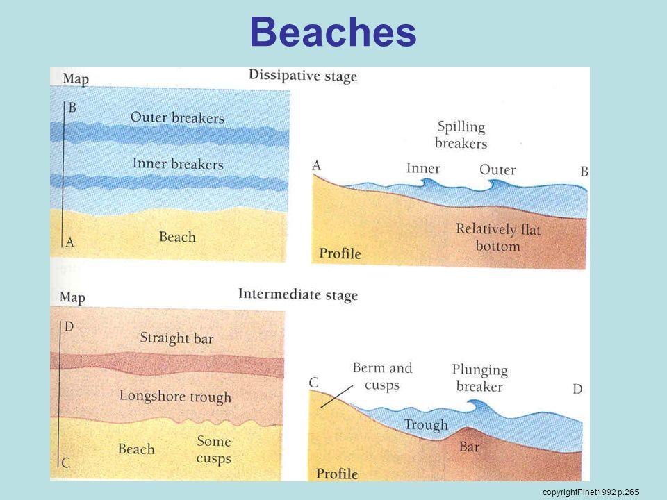 Beaches copyrightPinet1992 p.265