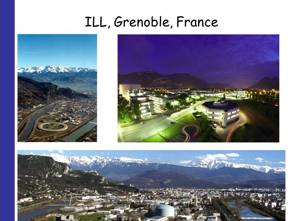 ILL, Grenoble, France
