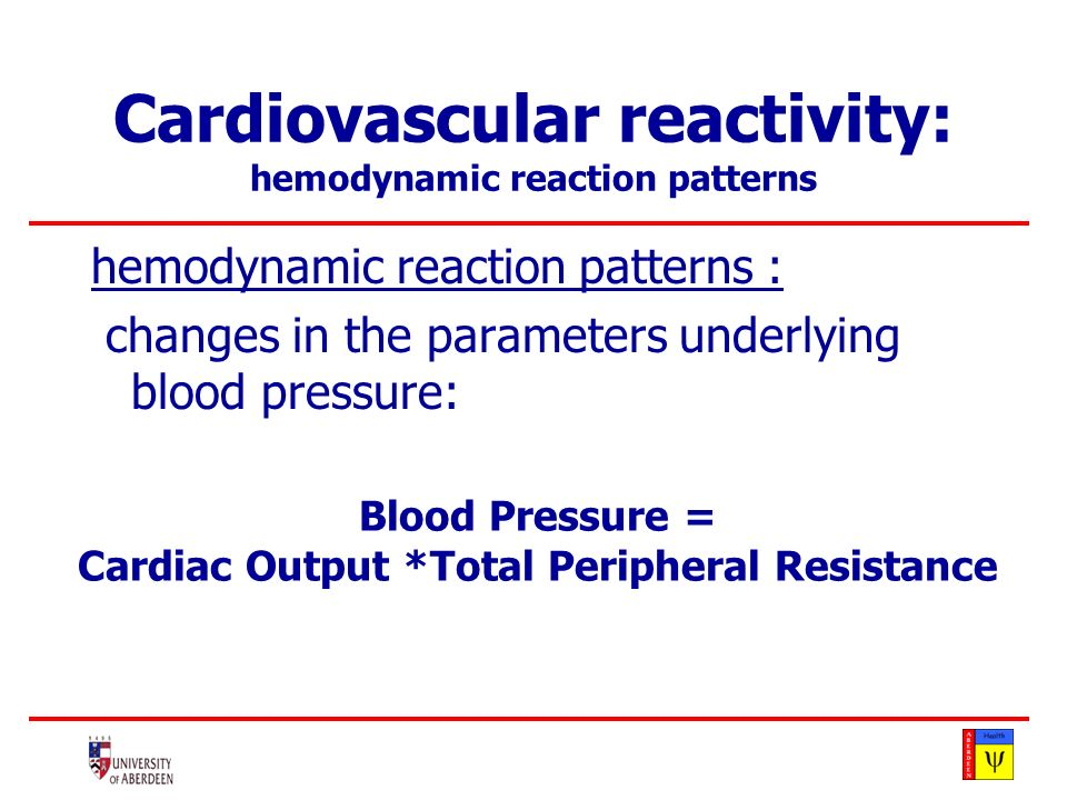Hemodynamic changes in response to a stressor are typically examined in the laboratory threat appraisals have been shown to be associated with increased Total Peripheral Resistance challenge appraisals were associated with increases in Cardiac Output.