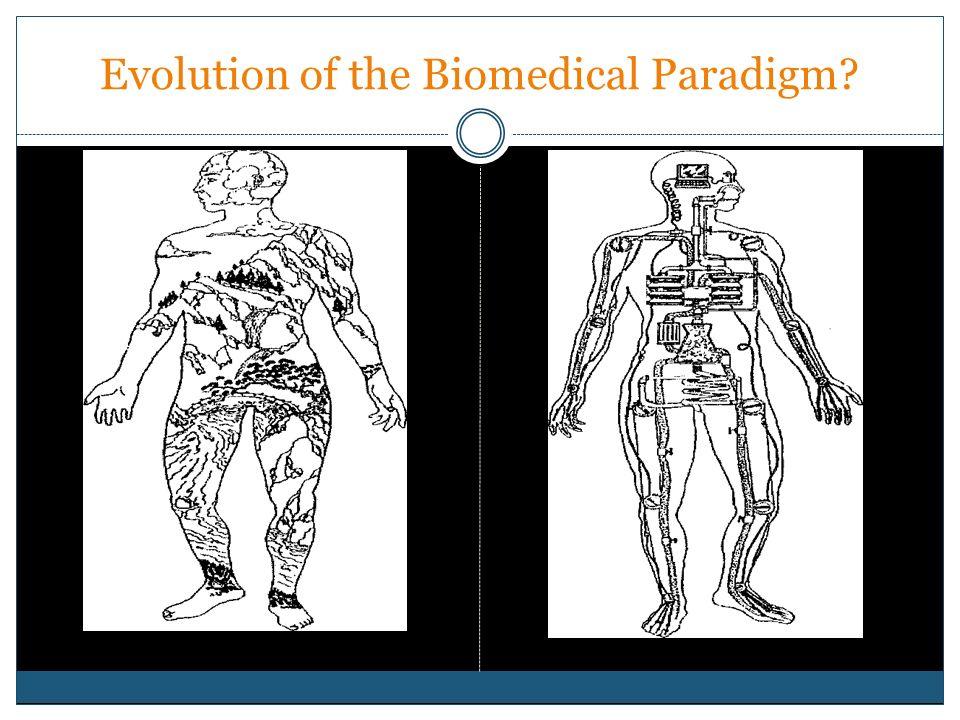 Evolution of the Biomedical Paradigm?