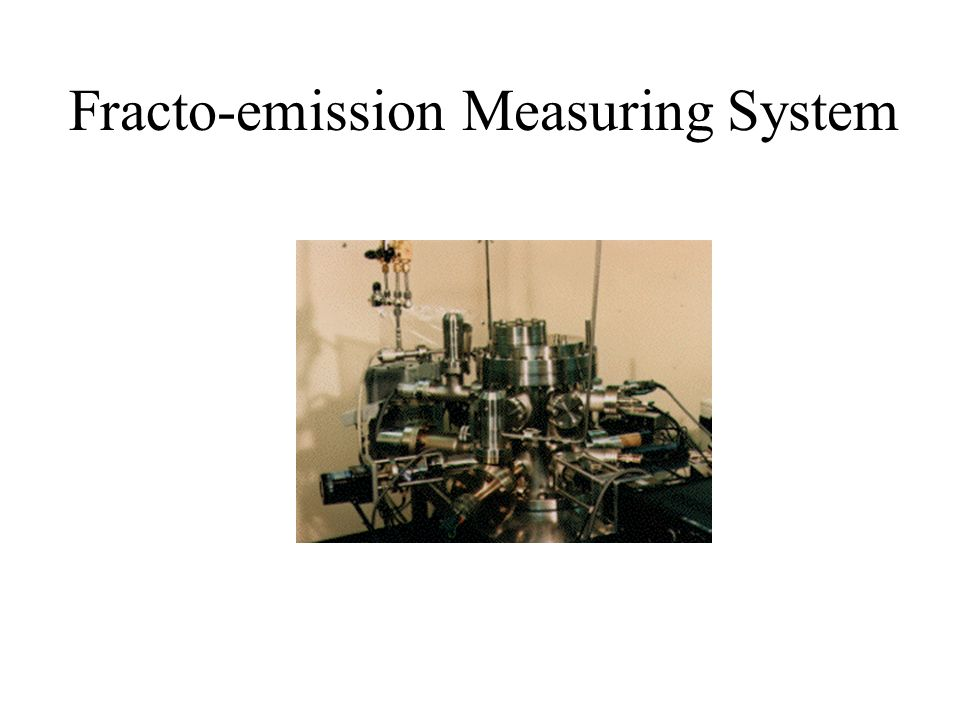 Fracto-emission Measuring System