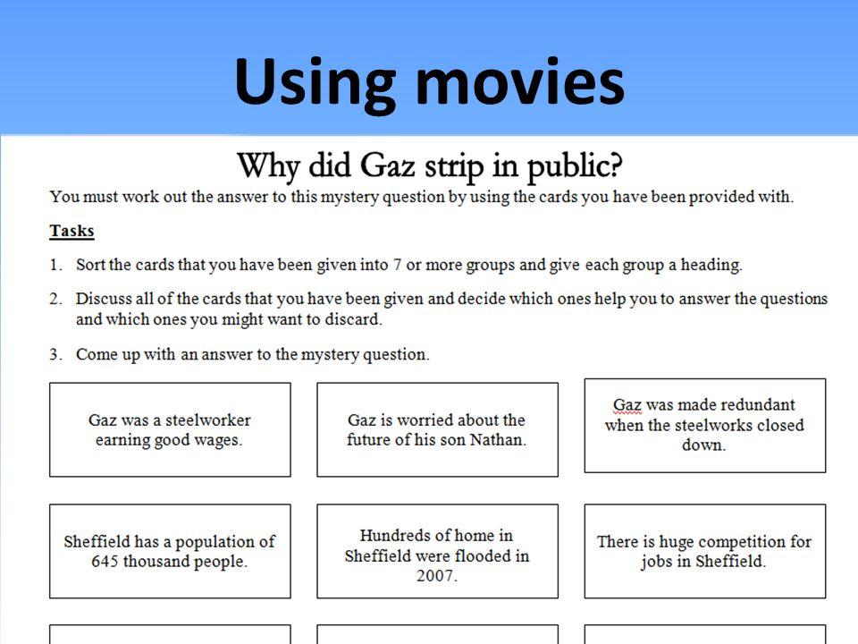 Using movies