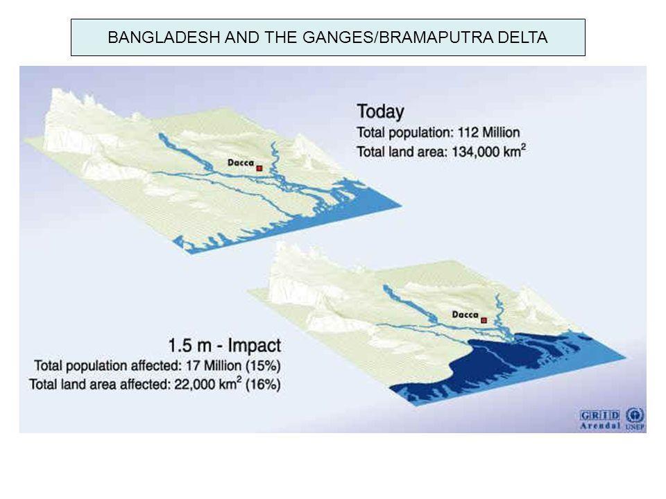BANGLADESH AND THE GANGES/BRAMAPUTRA DELTA