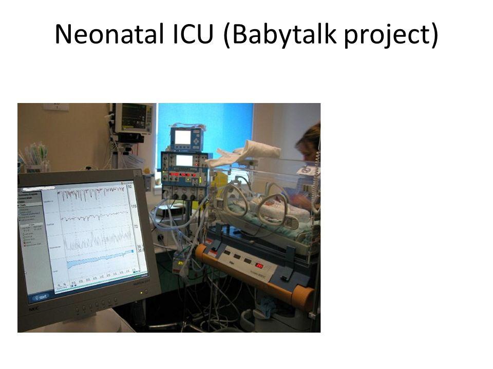 Neonatal ICU (Babytalk project)
