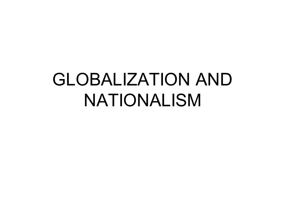 Conceptions Nationalism: heightened sense of national identity, discourse of sameness, we-ness Something natural, primordial, historical, or social construction.