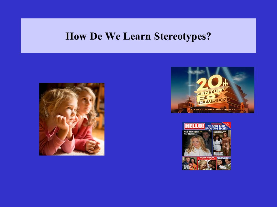 Results participants responded more quickly when stereotypic than non-stereotypic items were presented Problems.