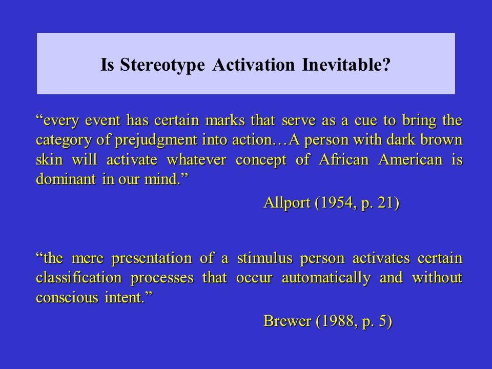 Processing Goals: The Inattentive Shopper (Macrae et al. 1997)