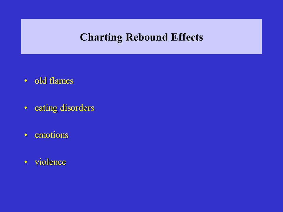 Charting Rebound Effects old flamesold flames eating disorderseating disorders emotionsemotions violenceviolence