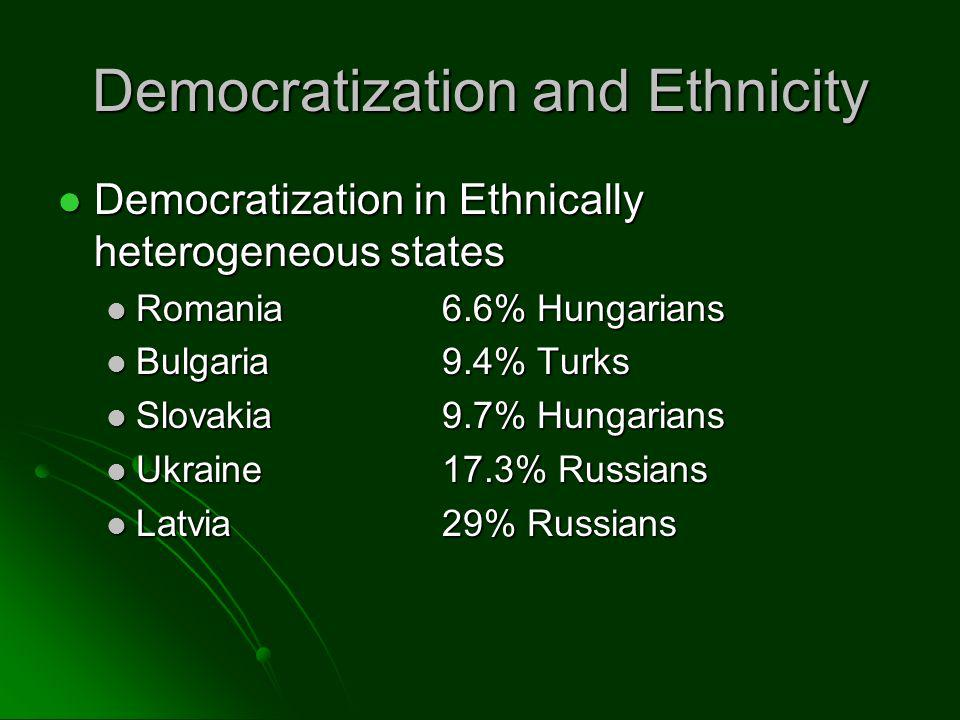 What can we say about ethnic cleansing.
