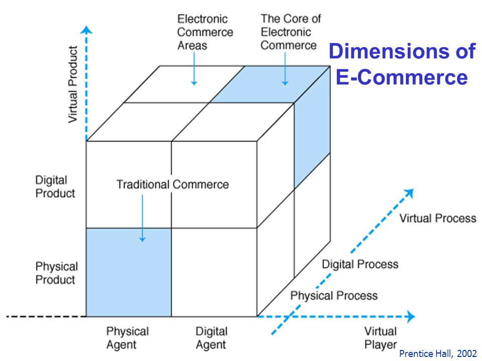 16 Dimensions of E-Commerce Prentice Hall, 2002