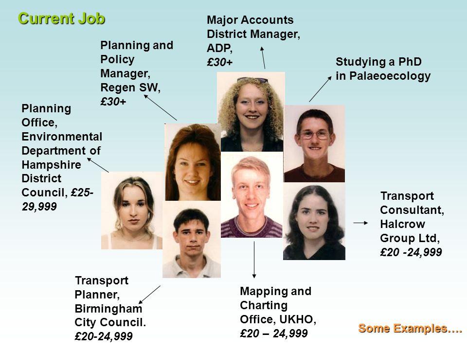 Current Job Transport Planner, Birmingham City Council.