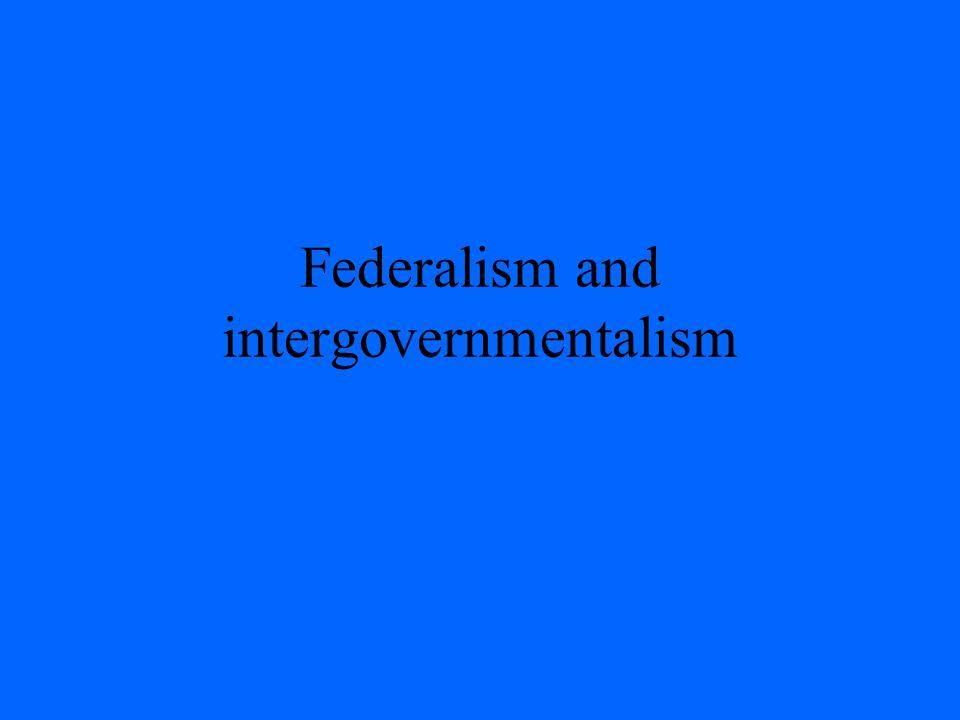 Federalism Many schemes Grotius, Wm.