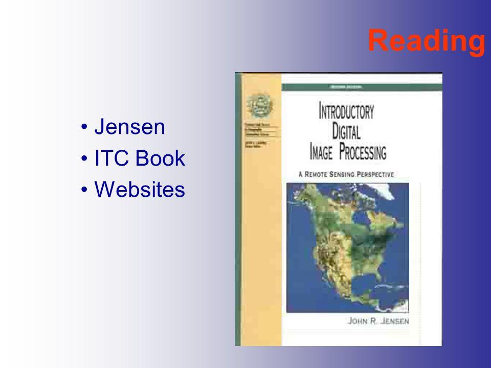 Reading Jensen ITC Book Websites
