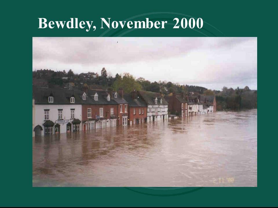 Bewdley, November 2000