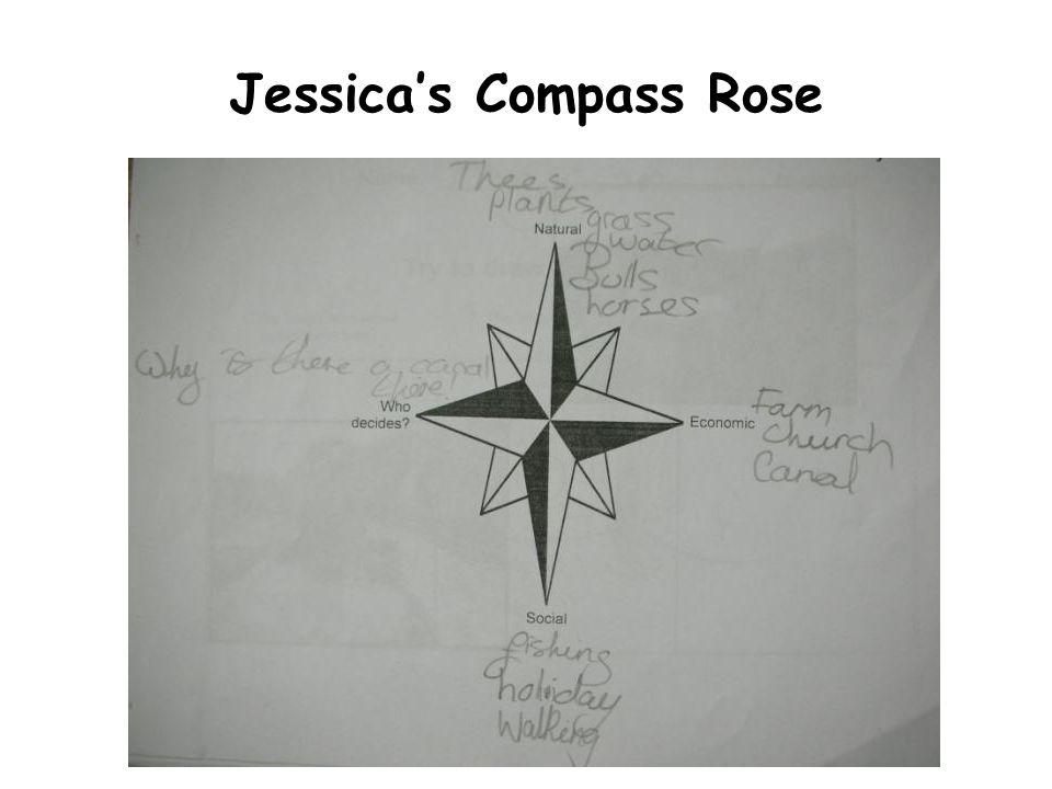 Jessicas Compass Rose