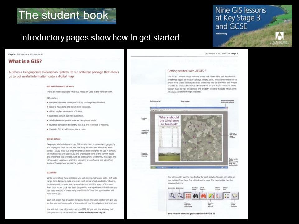 The student book Introductory pages show how to get started: