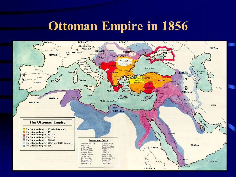Ottoman Empire in 1856