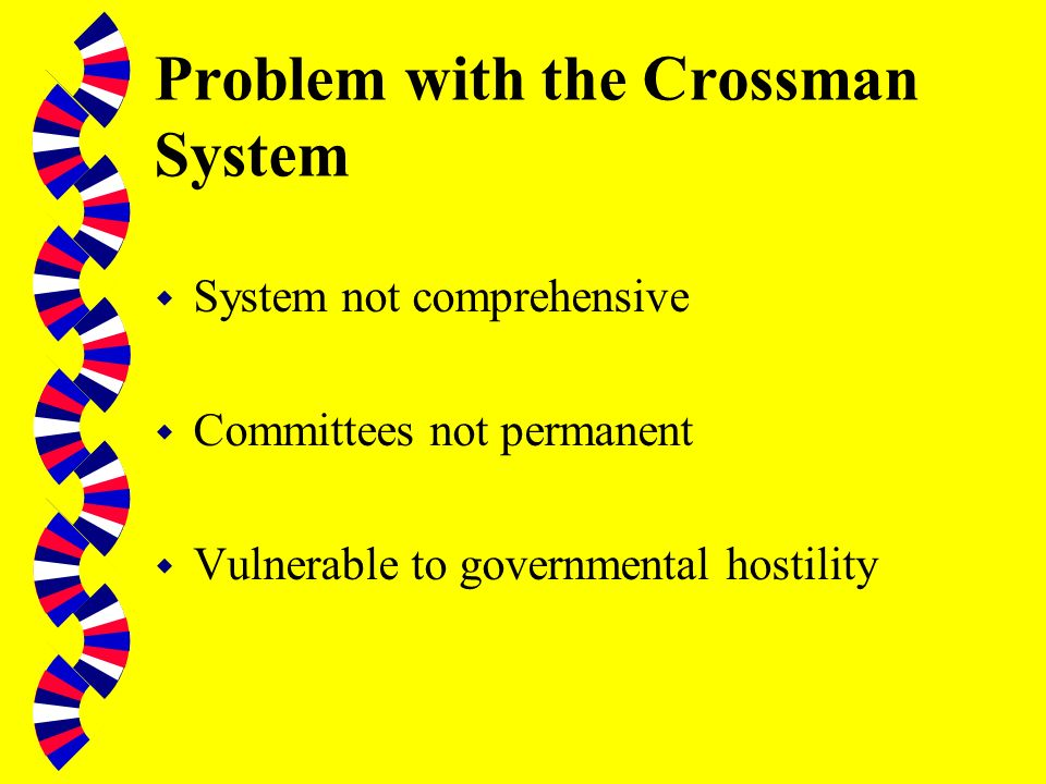 (ii) 1945-1979 w Select Committee on the Nationalised Industries (est. 1955) w Crossman Reforms, 1966