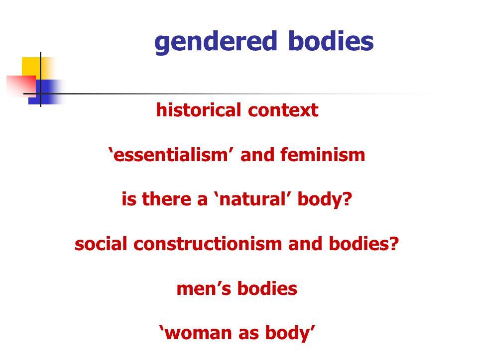 gendered bodies women reclaim their bodies.