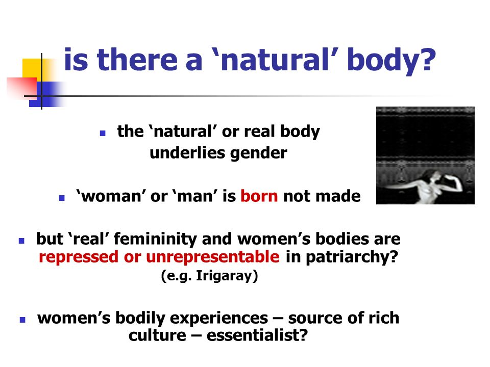 social constructionism and bodies.