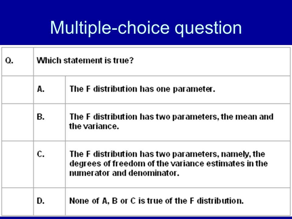 58 Multiple-choice question