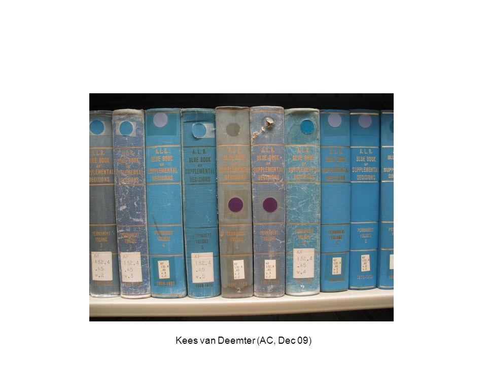 Kees van Deemter (AC, Dec 09)
