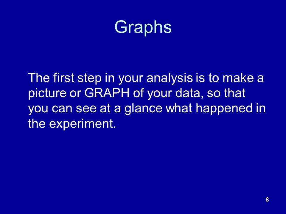 9 Levels of measurement The kind of graph you need depends upon the LEVEL OF MEASUREMENT.