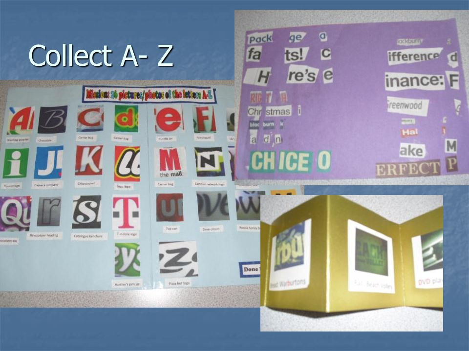 Collect A- Z