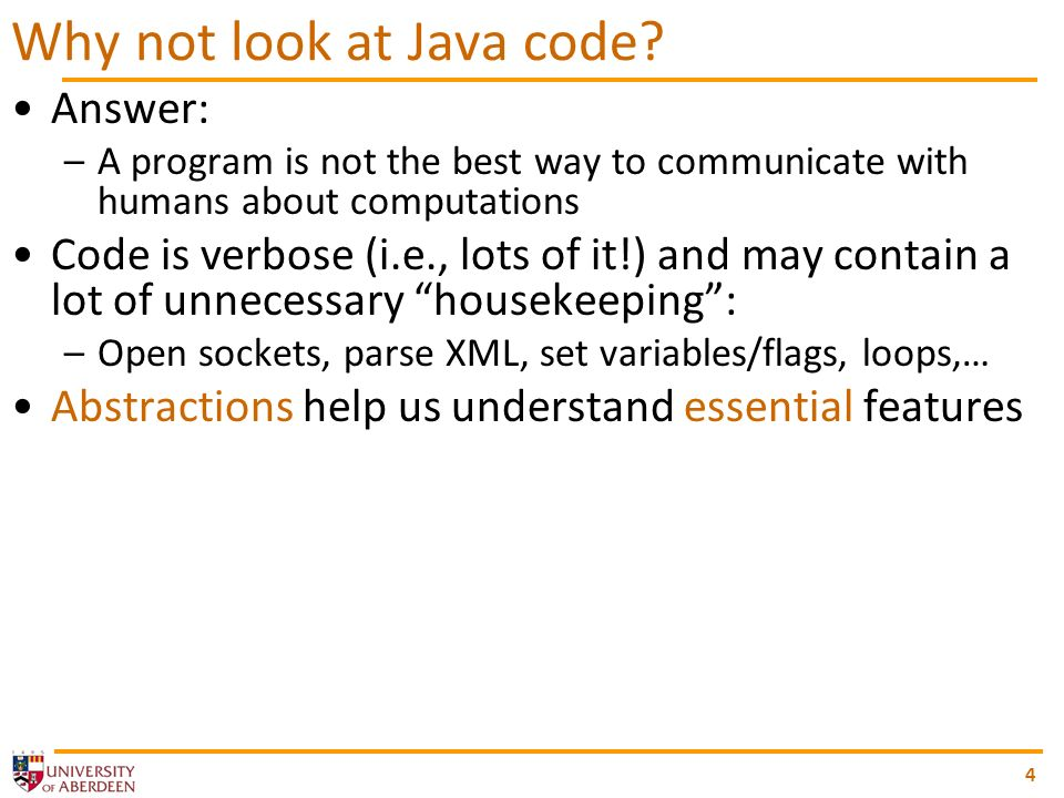 4 Why not look at Java code.