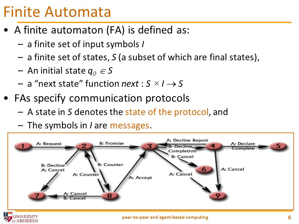 peer-to-peer and agent-based computing 27 Electronic Institutions (Contd) Demo: