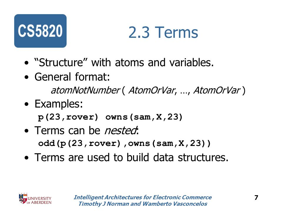 Intelligent Architectures for Electronic Commerce Timothy J Norman and Wamberto Vasconcelos 18 4.