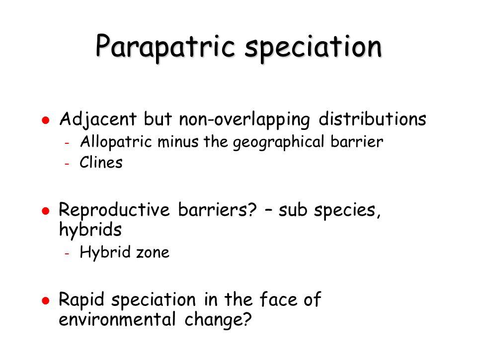 Interbreeding occurs in hybrid zone speciation incomplete.