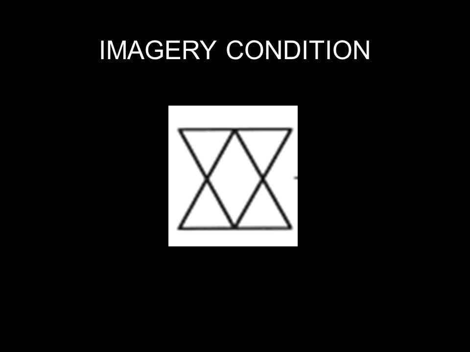 IMAGERY CONDITION