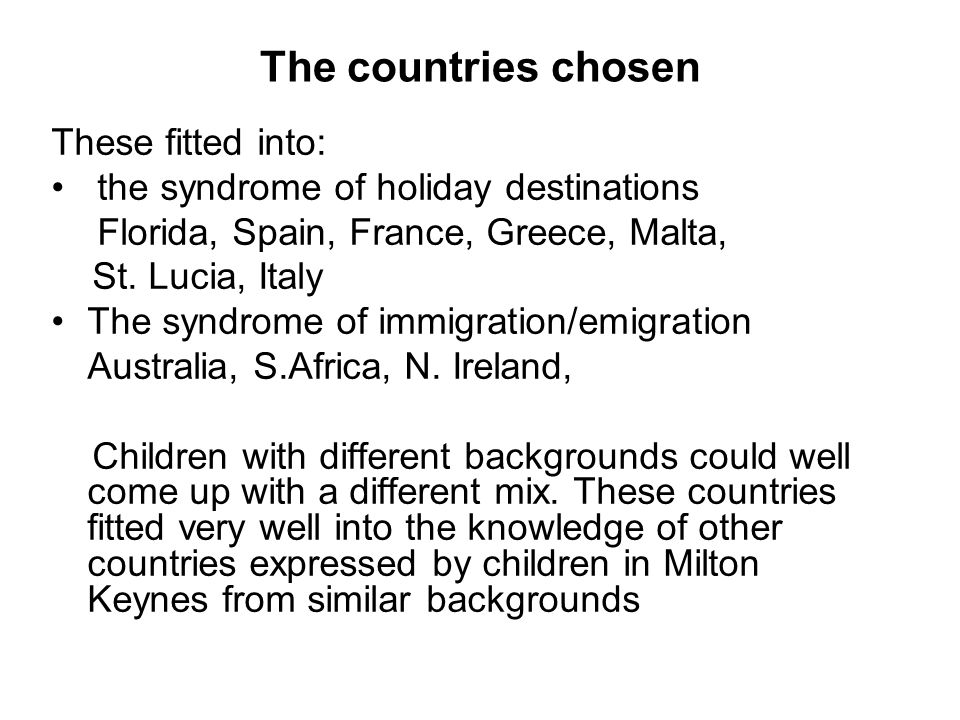 This boy, who had holidayed in Malta made a conscious attempt to compare this with Basingstoke
