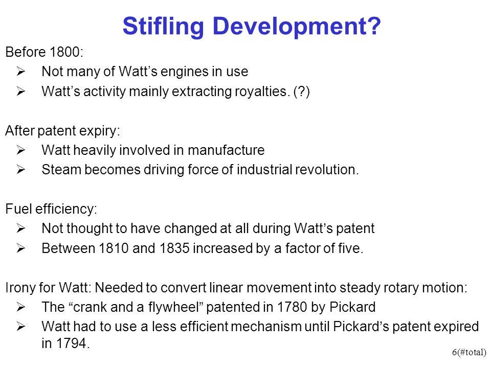 6(#total) Stifling Development.