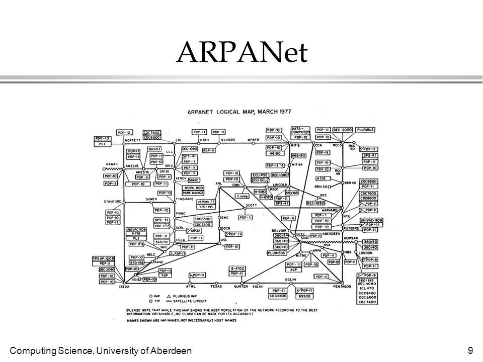 Computing Science, University of Aberdeen 40 Java l Who controls Java programming language.