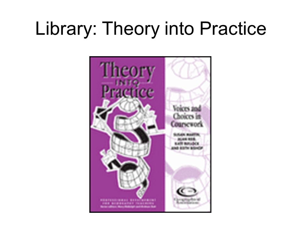 Library: Theory into Practice